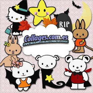 Halloween Cliparts de Hello Kitty