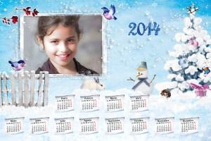 Calendarios online 2014 gratuitos.