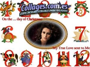 Collages online Navidad 2014.