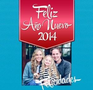 Felicitaciones Personalizadas Año Nuevo 2014.