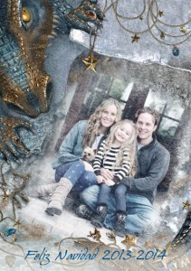 Collage personalizado de Navidad.