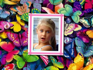 Collages con Mariposas.