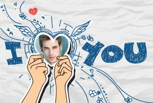 Collages con Mensajes de Amor.