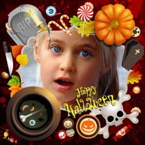 Marcos de Halloween para Niños.