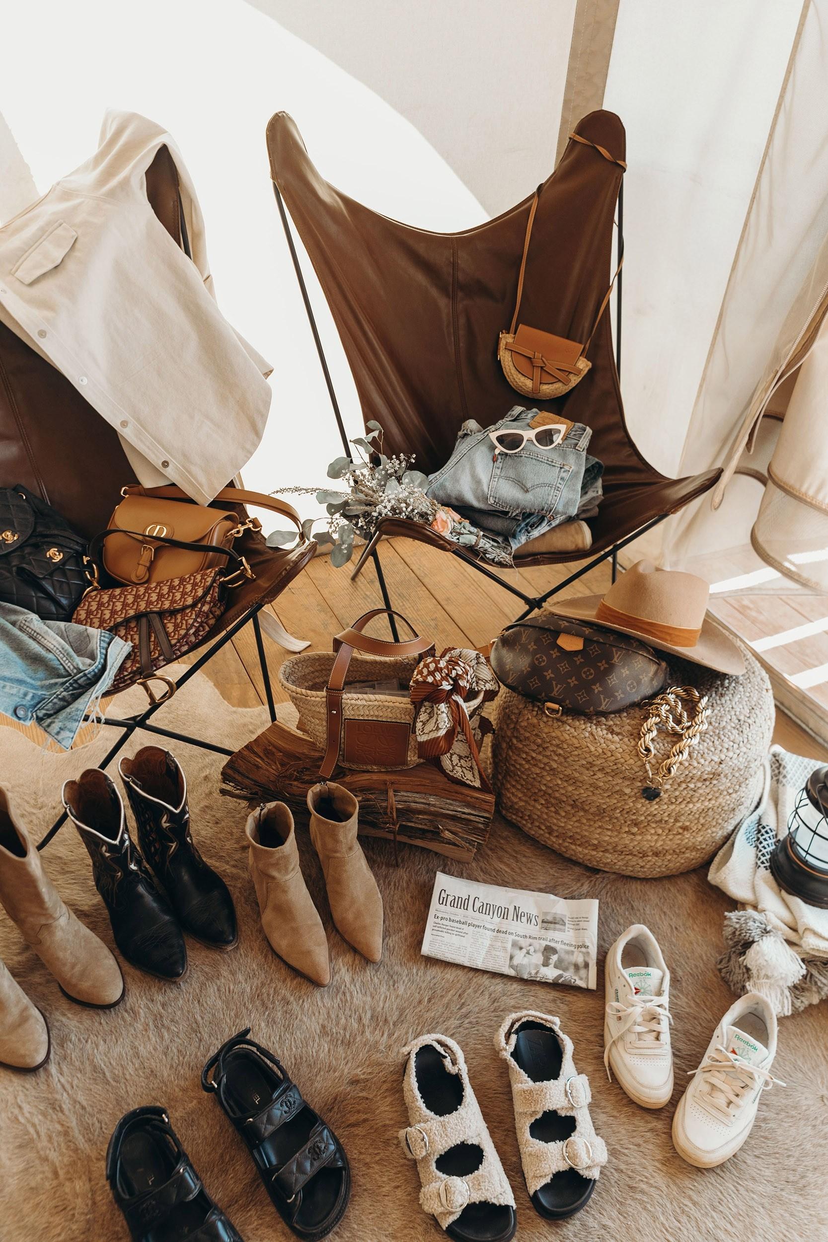 Cowboy closet