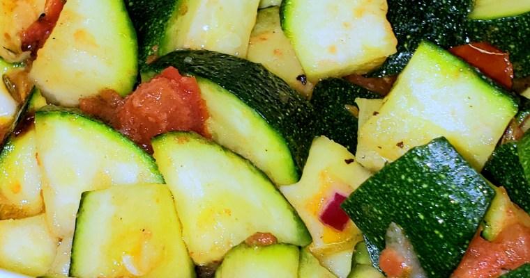 5 Minute Zucchini