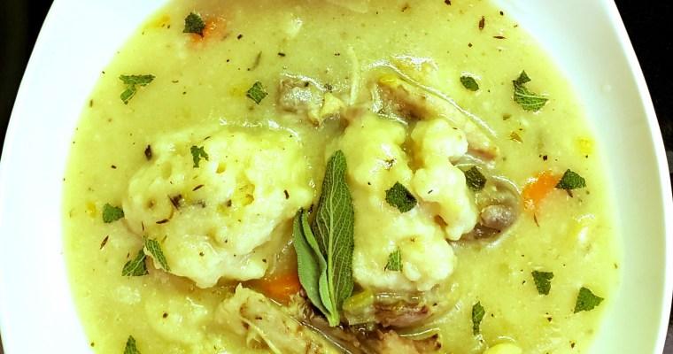 Chicken & Herb Dumplings Soup
