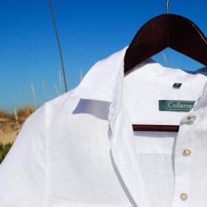 Compra la Camisa de Lino Blanco para Mujer