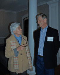 Ro Di Brezzo and Allen Carney at the Dec. 10, 2018, Retired Faculty Luncheon