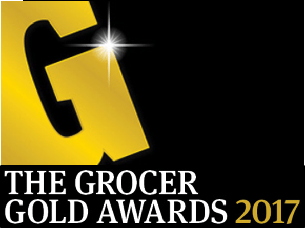 Logo for the Grocer Gold Awards 2017
