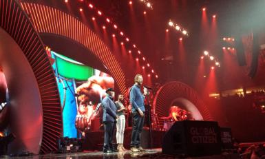 Steve on stage in Hamburg last year