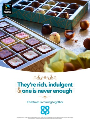 One of our Christmas press adverts