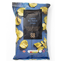Co-op Irresistible Lightly Sea Salted Crisps