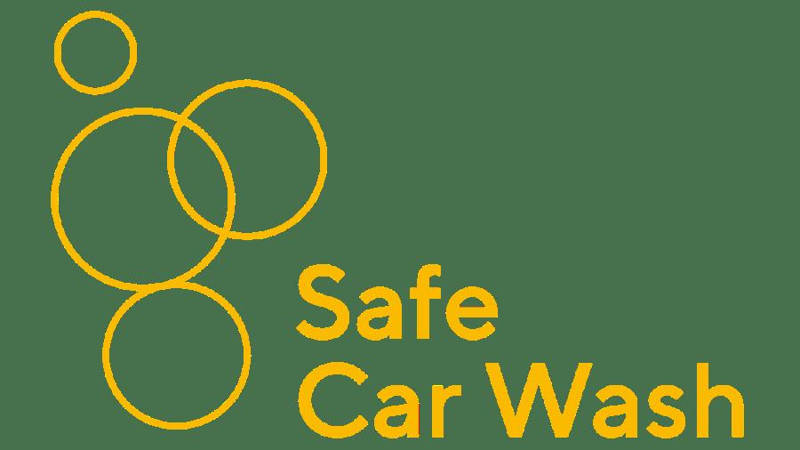 Safe car wash app graphic
