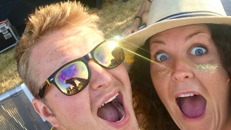 Sam Peake at Latitude Festival
