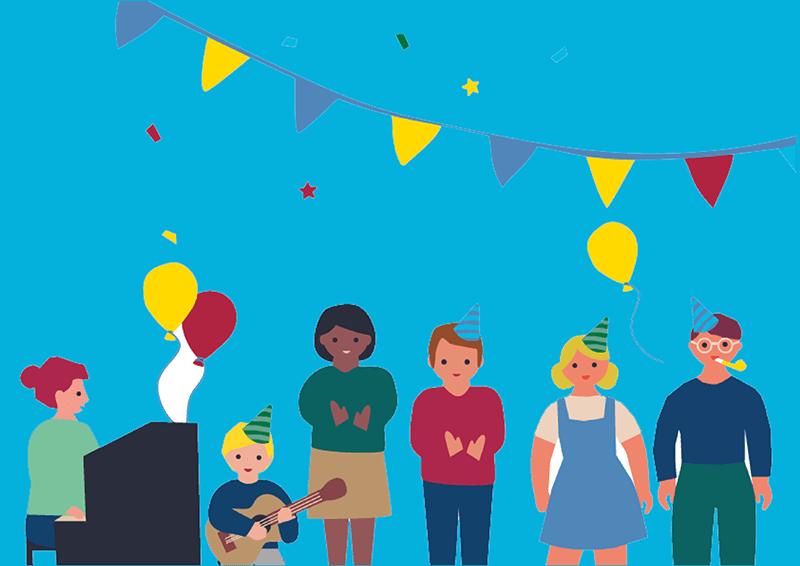 Payout Celebration Day illustration