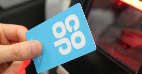 Co-op colleague membership card held in hand