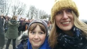 Rebecca Birbeck and son