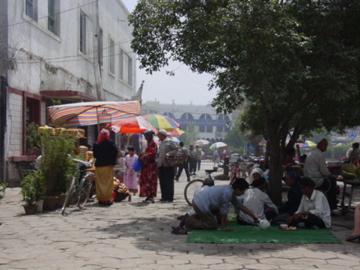 Street scene in Kashgar