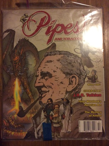 Pipes and Tobaccos magazine featuring Tolkien