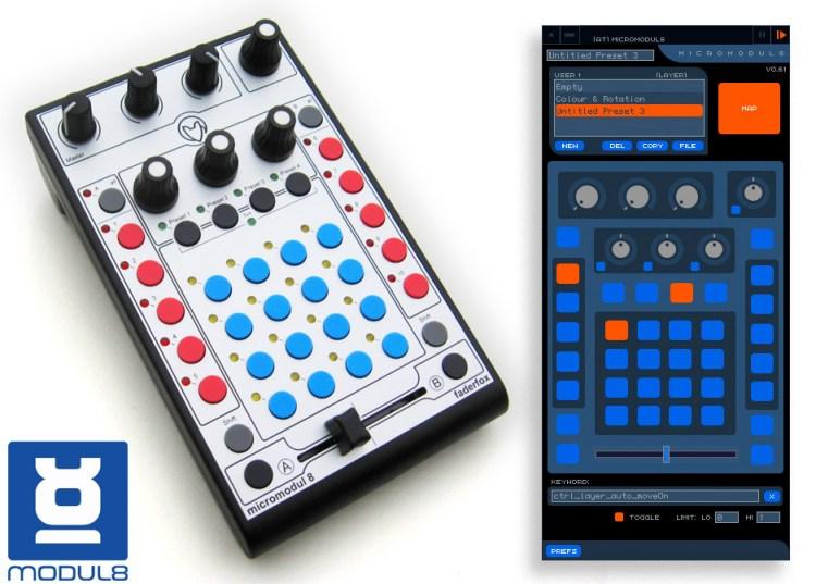 Micromodul8 Midi Controller