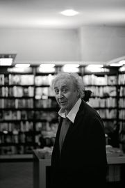 Gene Wilder at a book signing for My French Whore