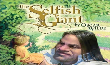 The Selfish Giant by Oscar Wilde (Chris Beatrice, illustrator)