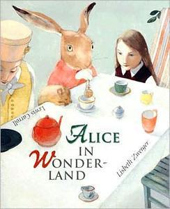 Alice In Wonderland by Lewis Carroll, Lisbeth Zwerger (illustrator)