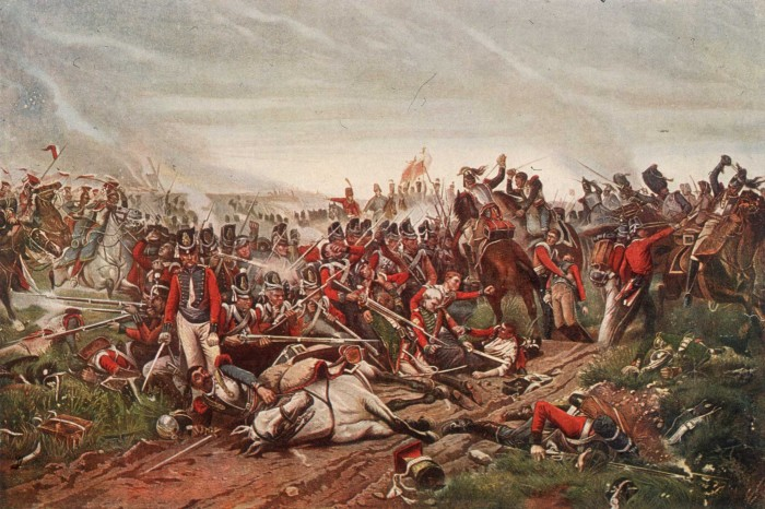 Waterloo: The History of Four Days, Three Armies, and Three Battles by Bernard Cornwell