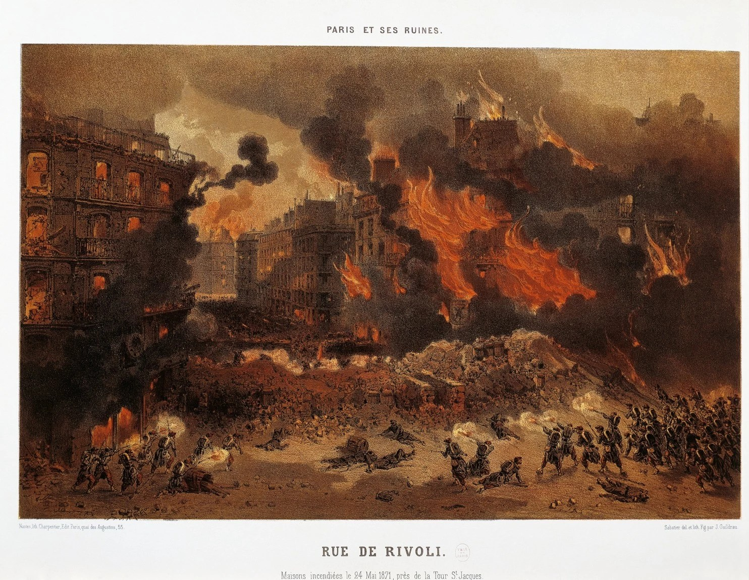 The Massacre: The Life and Death of the Paris Commune by John Merriman