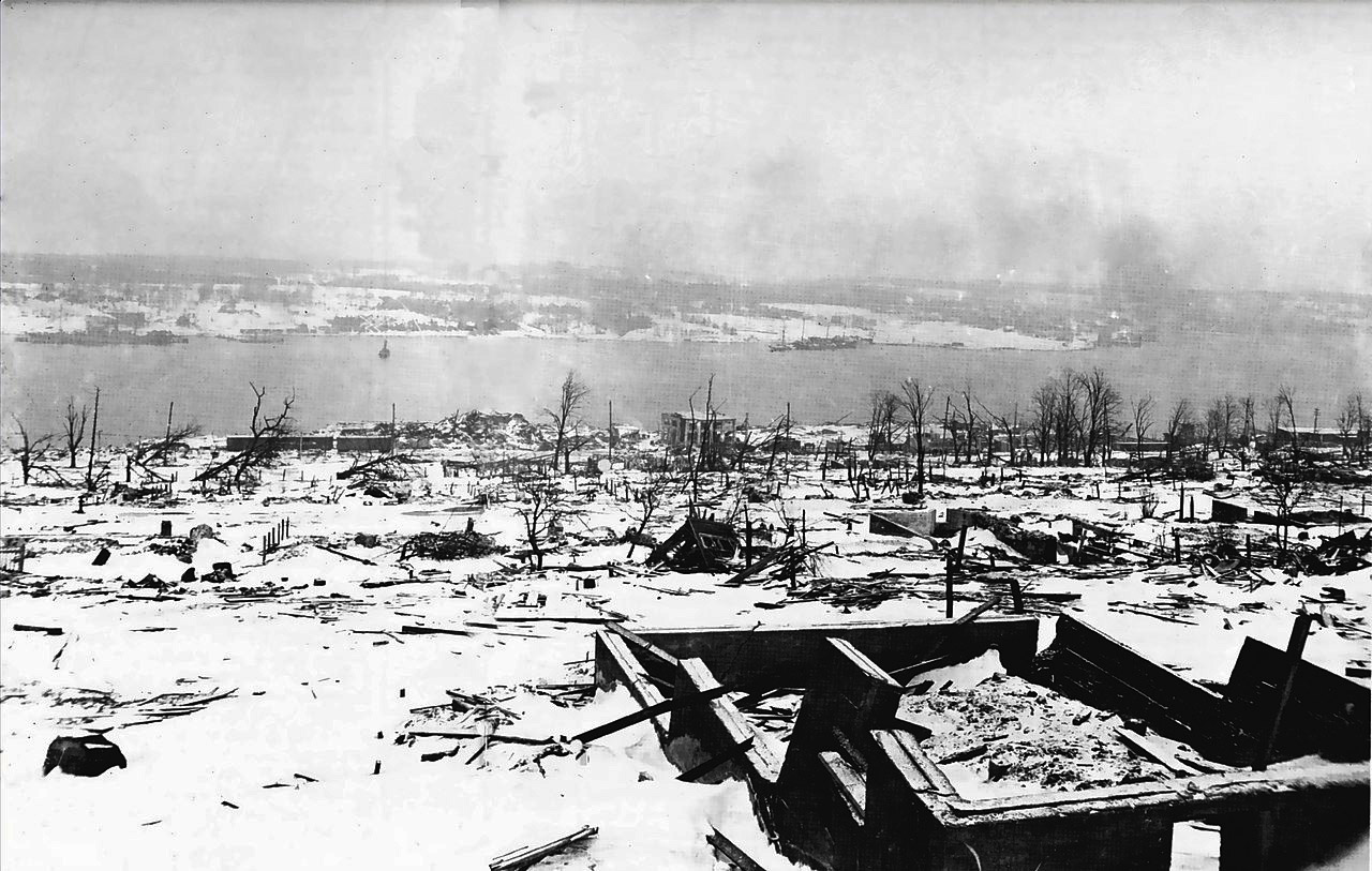 The Great Halifax Explosion by John U Bacon