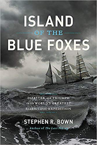 Island of the Blue Foxes by Stephen R. Brown