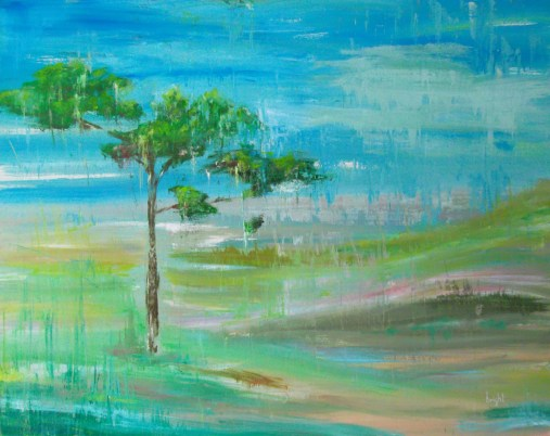 flood landscape painting buying canadian art janet bright