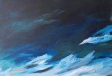 great plain landscape painting clouds buying canadian art janet bright