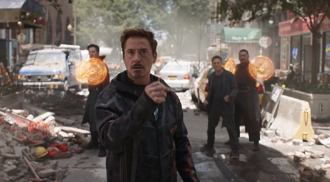 (C506) Avengers Infinity War: Tony Stark tendrá su Bleeding Edge