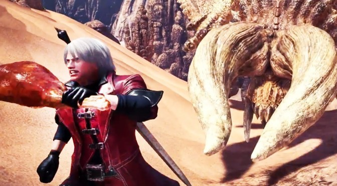 Monster Hunter: World contará con la elegante colaboración de Devil May Cry