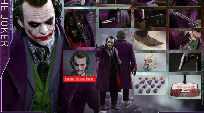 Comprar The Joker Quarter Scale 1/4 Figura de Hot Toys con crédito o a pagos