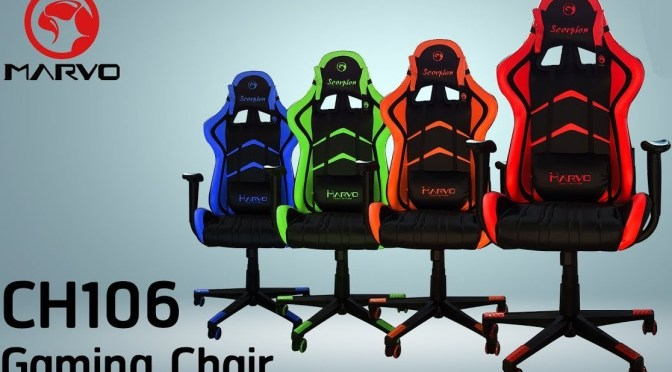 (C506) Review de Silla Gaming Marvo Scorpion CH-106