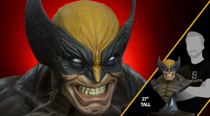 Comprar Busto Wolverine Sideshow Real 1:1 1/1 Life-Size Bust