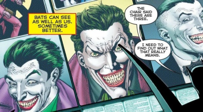 "DC Comics y Geoff Johns planean hacer una nueva serie ""The Three Jokers"""