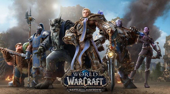 Pre-expansión de World of Warcraft: Battle for Azeroth ya en vivo