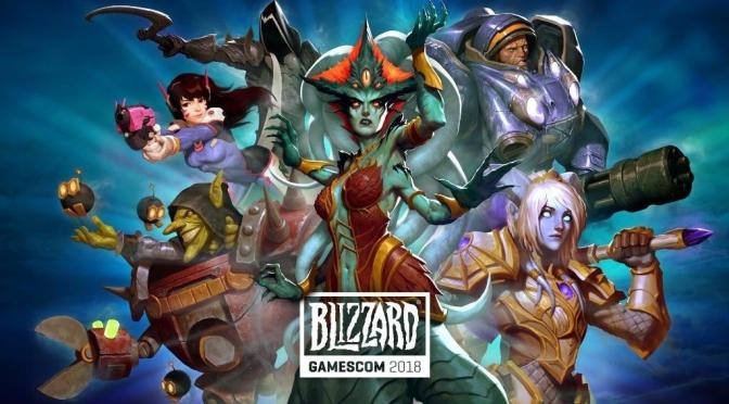 Blizzard Entertainment celebrará a su c omunidad en la Gamescon 2018