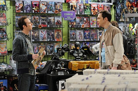 """The Friendship Contraction"" -- Sheldon's (Jim Parsons, right) selfish demands force Leonard to reconsider their friendship. Meanwhile, Wolowitz tries to pick his astronaut nickname, on THE BIG BANG THEORY, Thursday, Feb. 2 (8:00-8:31 PM, ET/PT) on the CBS Television Network. Also pictured: Kevin Sussman, left. Photo: Michael Yarish/Warner Bros. �©2012 Warner Bros. Television. All Rights Reserved."