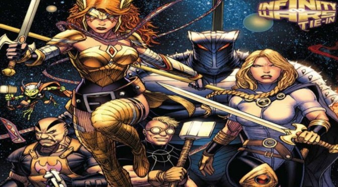 Vista Previa: Asgardians of The Galaxy #1