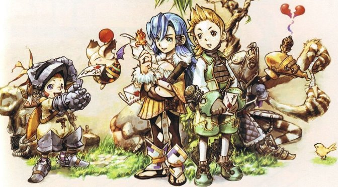 Final Fantasy Crystal Chronicles tendrá remasterización en PS4 y Switch