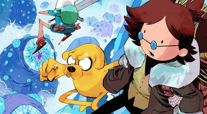 "(C506) Noticias al Comic ""Adventure Time"""