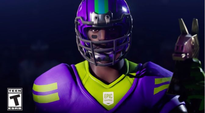 Fortnite tendrá skins especiales de la NFL para su modo Battle Royale ¡No te los pierdas!