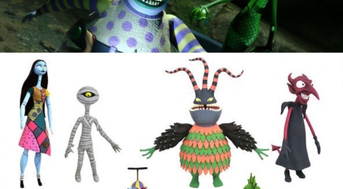 Nightmare Before Christmas 25th Action Figures from Diamond Select