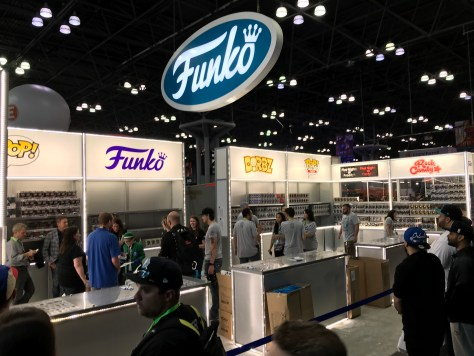 Funko Booth NYCC 2018