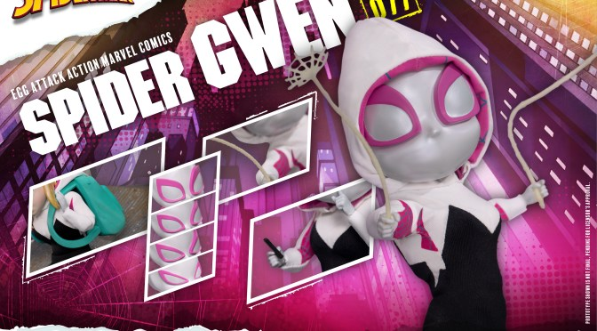 Preorder Now the Exclusive Spider-Gwen Egg Attack Action by Beast Kingdom